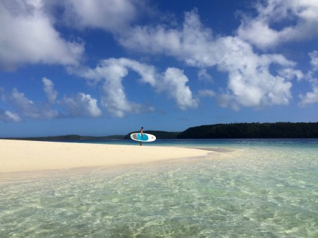 SUPing the South Pacific