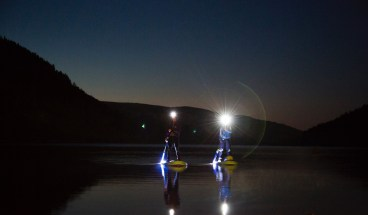 SUPing under the stars - Psyched Paddleboarding