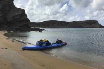paddle adventure around Menorca