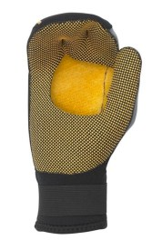 Palm palmless mitt