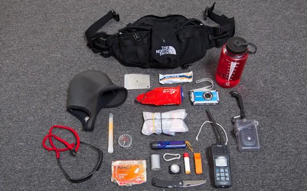 Equipment needed for winter paddling