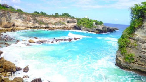Beautiful Cove with turquoise water