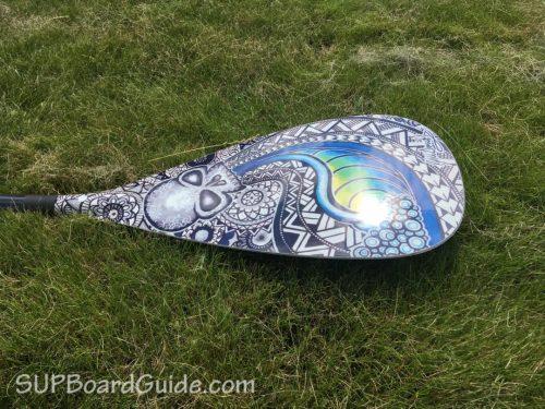 Skull Design Paddle