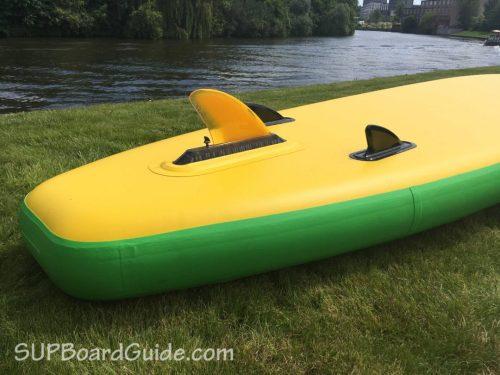Triple Fin paddle board