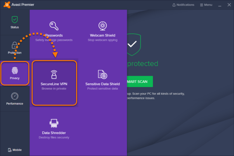 Avast SecureLine VPN 2020 License Key With Activation Key Free