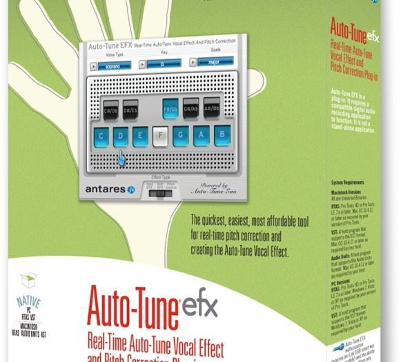 Auto-Tune EFX3 Crack With License Key Free Download