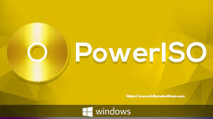 PowerISO 2020 Activation Key With Serial Key Free Download