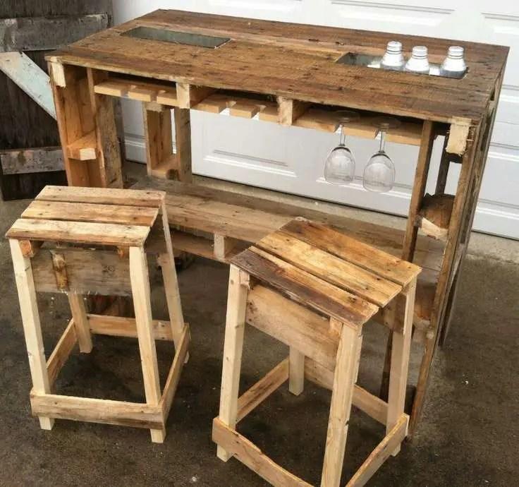 Construire Un Bar Avec Des Palettes Gamboahinestrosa