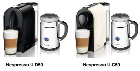 Nespresso U Comparison