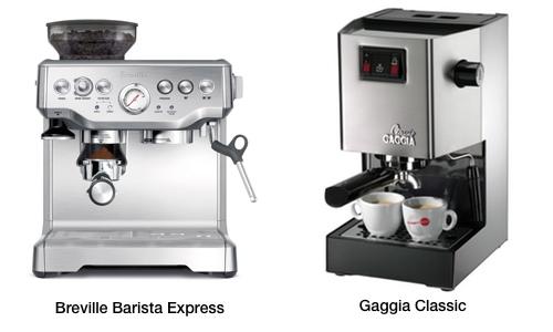 Breville Barista Express Vs Gaggia Classic