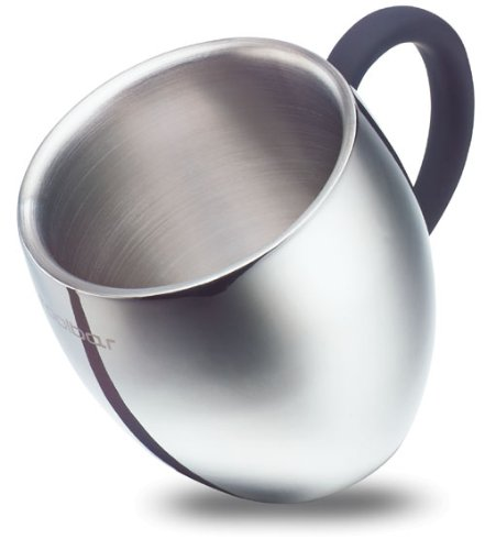 QQ Double Wall Stainless Steel Insulated Coffee Mug _ Tea Cup