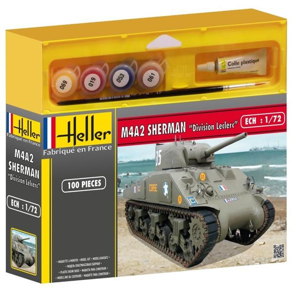 """M4A2 SHERMAN """"DIVISION LECLERC"""" Heller 49894"""
