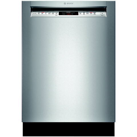 "Bosch SHP65T55UC 500 24"" Stainless Steel Fully Integrated Dishwasher"