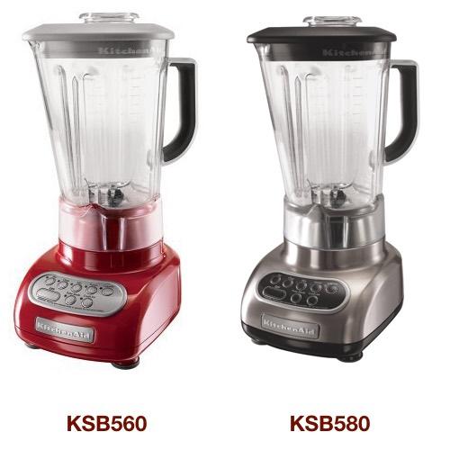 the difference between kitchenaid ksb560 vs ksb580 5 speed blender rh super kitchen com