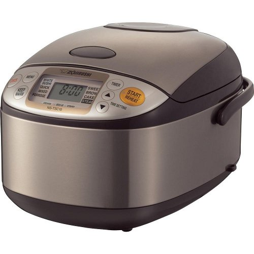 Zojirushi NS-TSC10 5-1_2-Cup (Uncooked) Micom Rice Cooker and Warmer