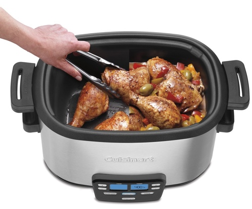 Cuisinart Multi-cooker in use