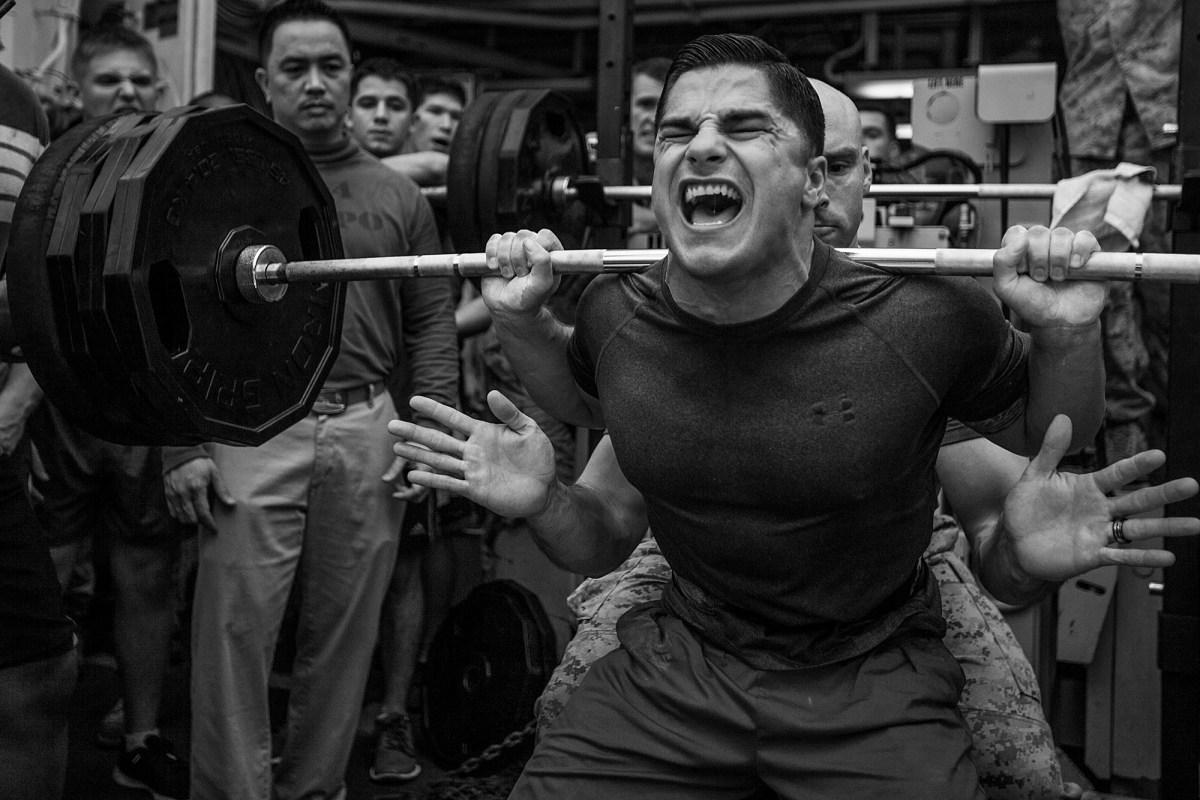 Powerbuilding - bodybuilding + powerlifting