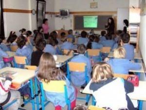 Aula affollata di scuola