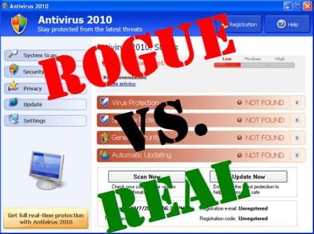 rogue vs real