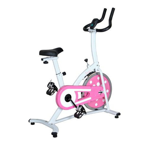 Pink Sunny Health and Fitness Indoor Cycling Bike Review