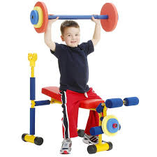 Indoor Gym Equipment for Kids - weight bench