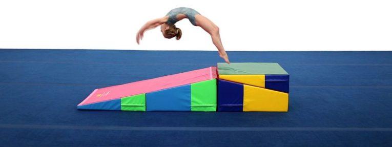 incline-mat-gymnastics equipments for home