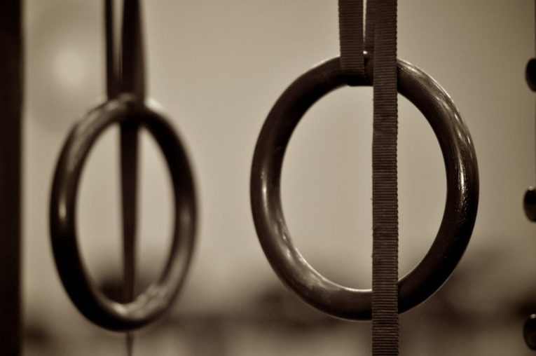 Gymnastic Rings-cheap crossfit equipment