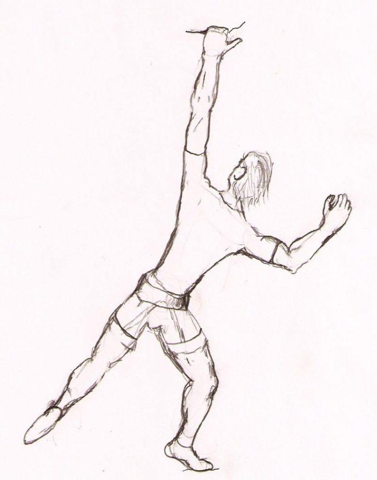 Arm Postures -rock climbing techniques