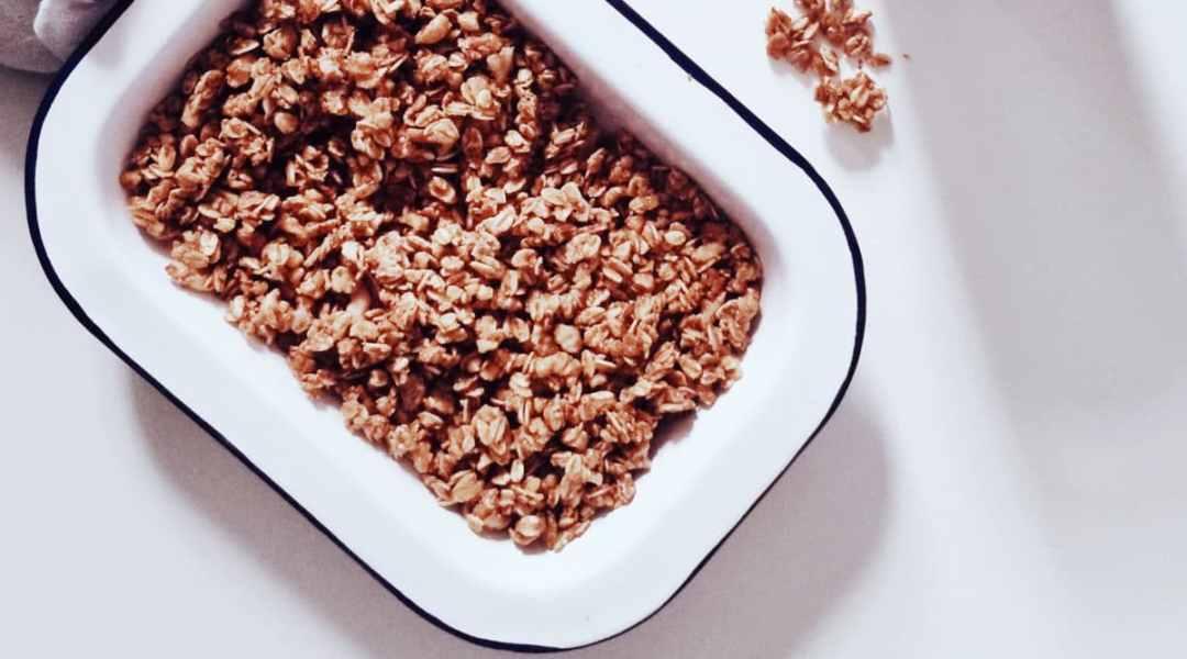 Batch-cooking: préparer à l'avance pour bien manger la semaine (+ recette de granola en bonus)