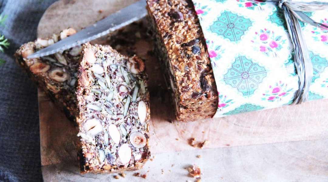 Le pain aux graines sans farine trop bon (pain cétogène)
