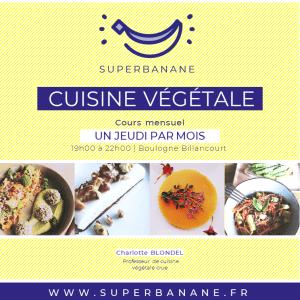 cours de cuisine crue végétale Charlotte Blondel Boulogne Billancourt