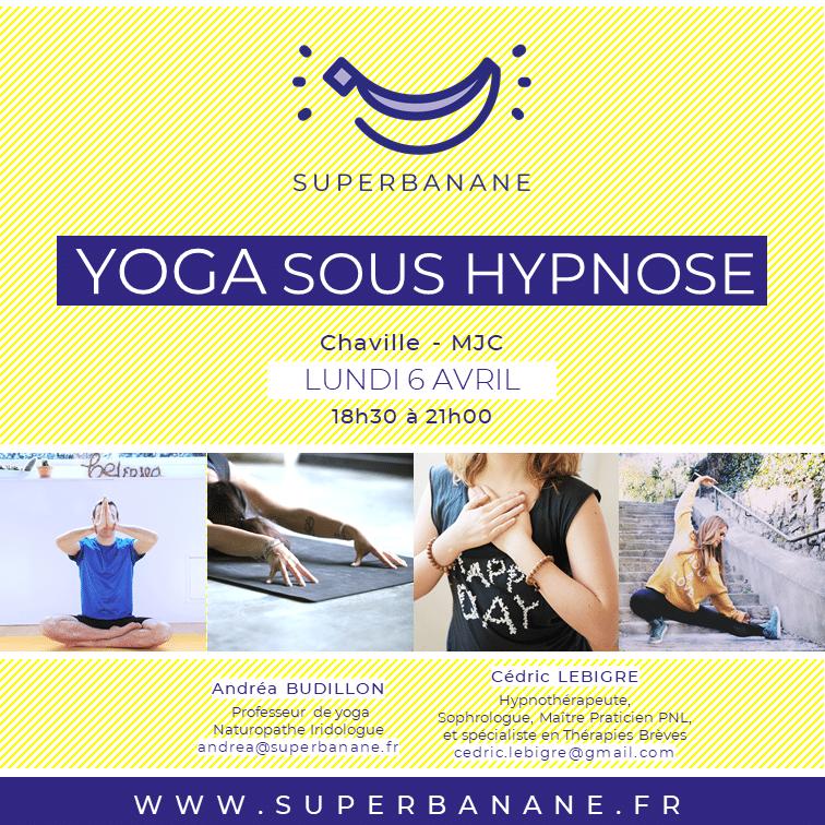 atelier yoga sous hypnose sommeil récupération
