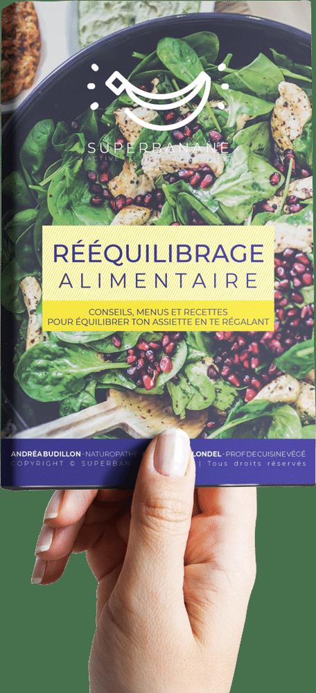 Rééquilibrage alimentaire Andréa BUDILLON Charlotte BLONDEL naturopathie cuisine végétale perte de poids