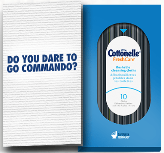 cottonelle freshcare wipes