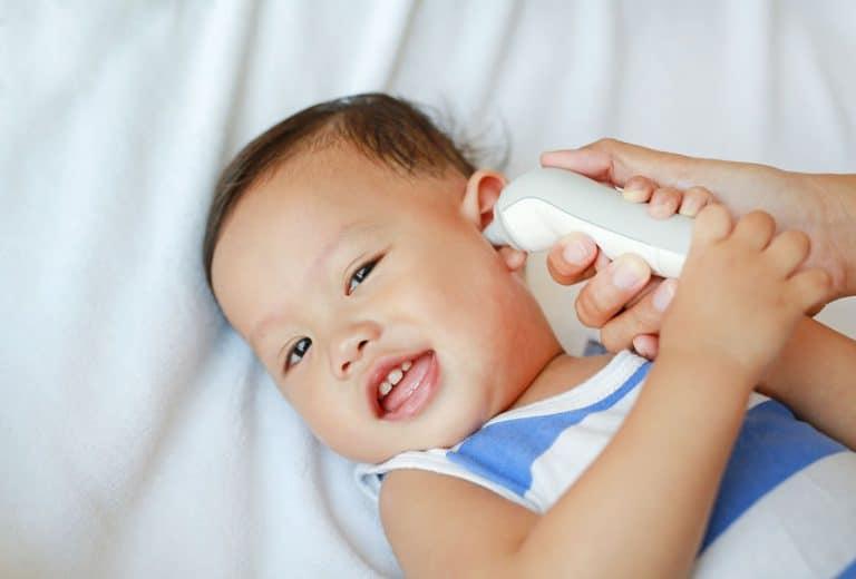 Termometro per bambini auricolare