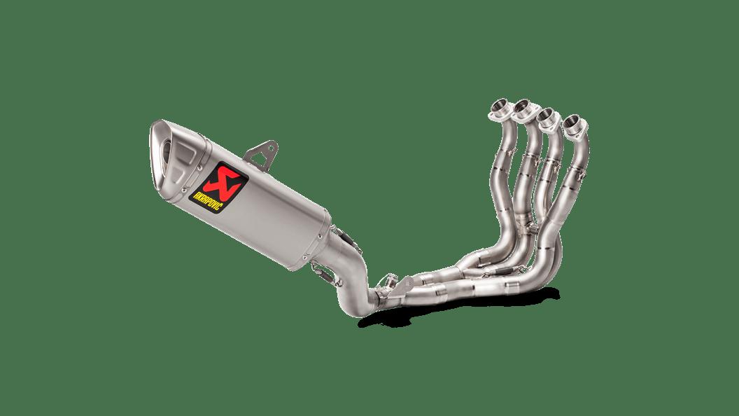 akrapovic titanium evolution full racing exhaust system 2017 suzuki gsx r1000 1000r