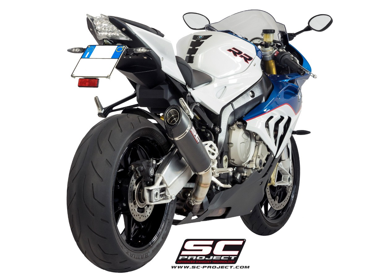 sc project 2015 2016 bmw s1000rr conic slip on exhaust