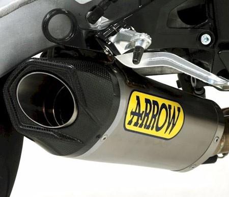 arrow competition evo 2 full titanium exhaust system 2010 2014 bmw s1000rr