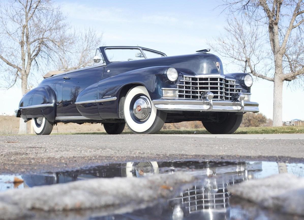 1946 Cadillac Series 62 Convertible Coupe