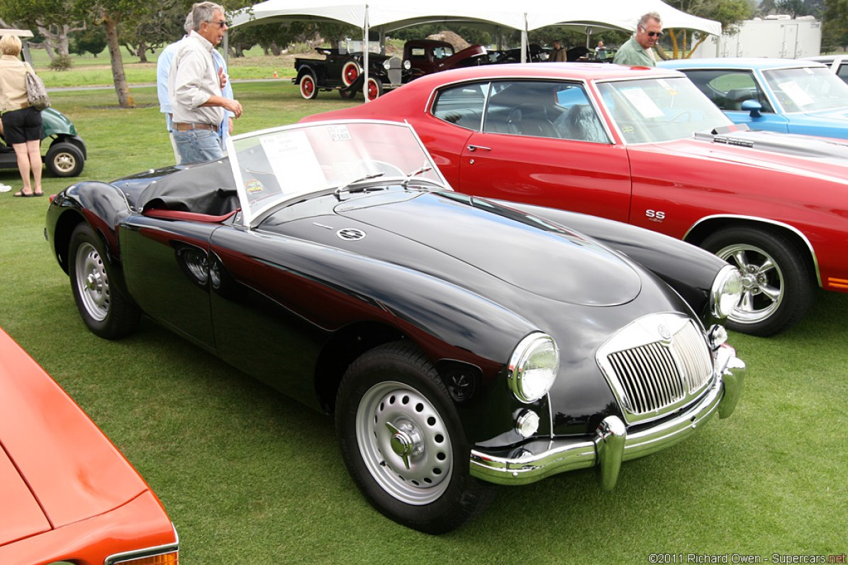 1958→1960 MG A Twin-Cam