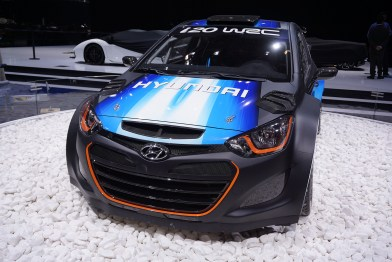 2013 Hyundai i20 WRC Showcar