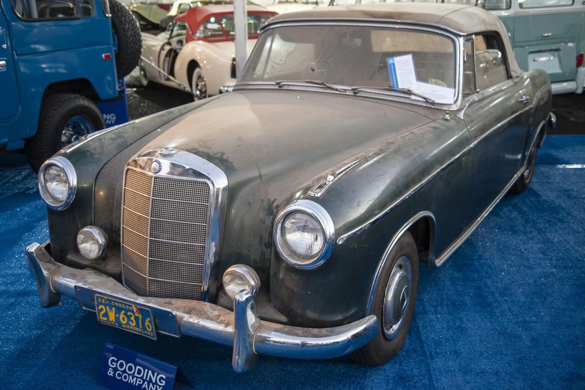 1958→1960 Mercedes-Benz 220 SE Cabriolet