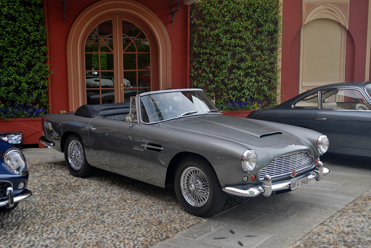 1961→1963 Aston Martin DB4 Convertible