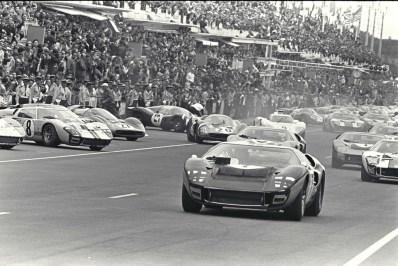 24 Hours of LeMans, LeMans, France, 1966. Start of race. CD#0554-3252-3673-17.