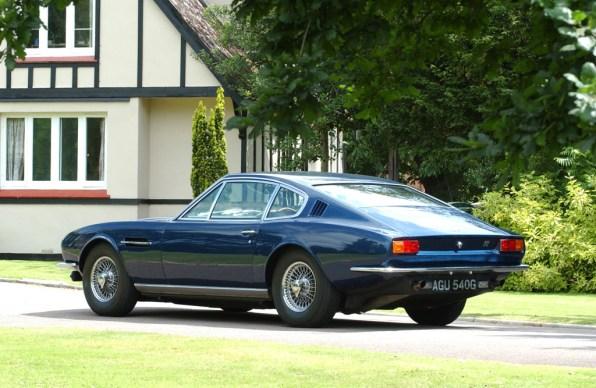 1967→1972 Aston Martin DBS