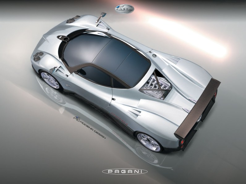 2005 Pagani Zonda F