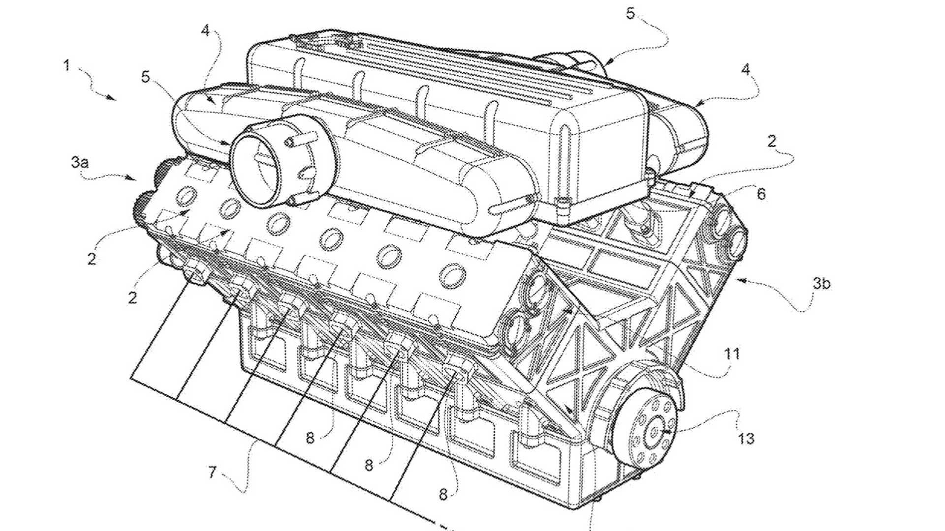 Ferrari Files A Patent For A New Fuel Efficient V12