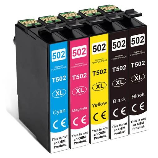502XL Multipack voor Epson 5 stuks