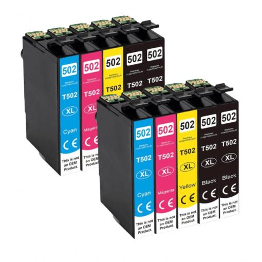 502XL Multipack voor Epson 10 stuks
