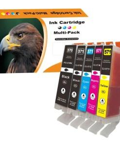 CLI571 PGI570 Multipack voor de Canon van 5 inktpatronen